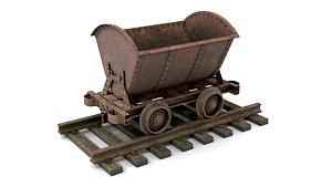 mine trolley 3D model