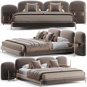 3D model Baxter Stone Bed