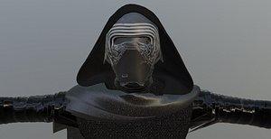 kylo ren starwars - 3D model