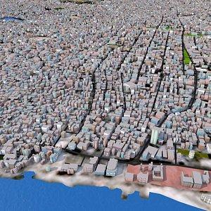 Gaza City May 2021 3D model