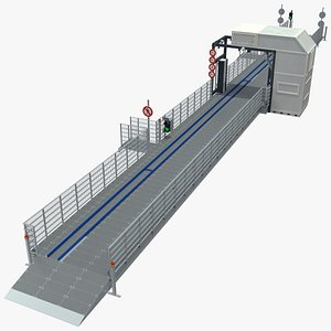 3D Cargo and Vehicle Inspection Conveyor System