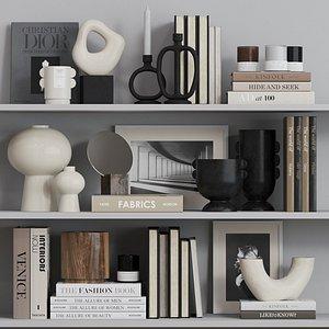 3D decorative set hm model