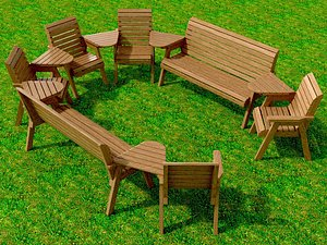 seat garden model