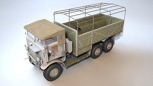 3D Leyland Retriever 6x6 model