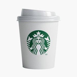 3D model Starbucks Cup