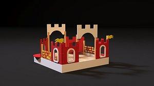 Citadel fortress 3D model