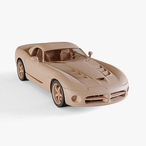3D 2010 Dodge Viper SRT 10 model