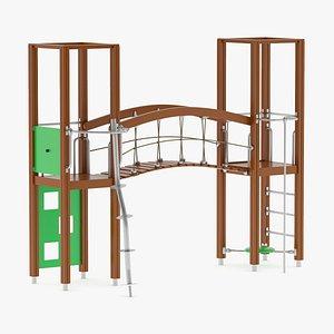 Lappset Activity Tower 20 3D model