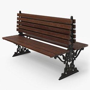 bench city pbr 3D