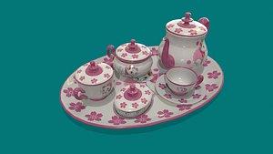 tea set model