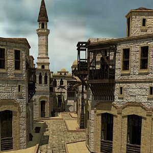 arabian city model