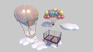 air balloon model