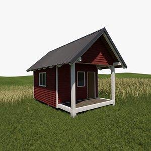 3D model Cabin