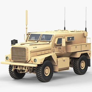 3D MRAP Cougar 4x4 model