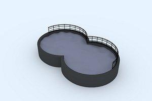 pool 2 3D model