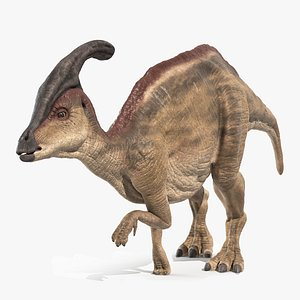Parasaurolophus - Rigged and Animated 3D model
