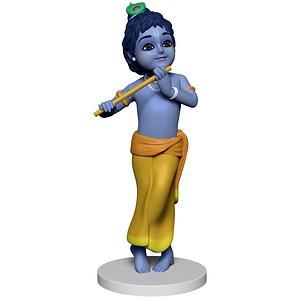 little Krishna 3D model