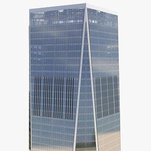 Modern Skyscraper 3D model