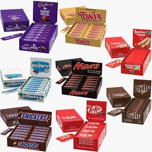 candies box 3D model