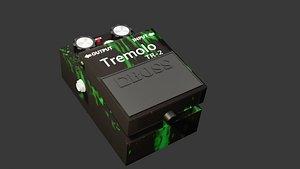 3D pedal boss tremolo tr-2