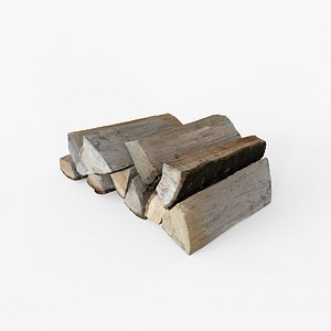 3D Woodlogs - firewood