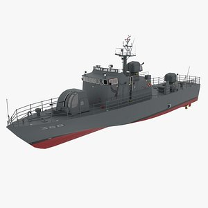 Chamsuri Class Patrol Boat model