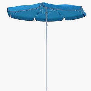 3D Beach Umbrella