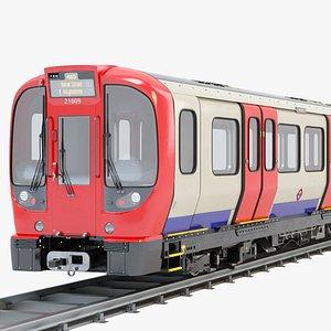 3D Metro Train S8 model