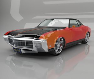 1969 Buick Riviera 3D