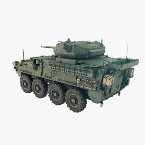 3D Stryker Dragoon M1296 model