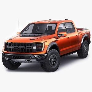 3D Ford F-150 Raptor 2021 model