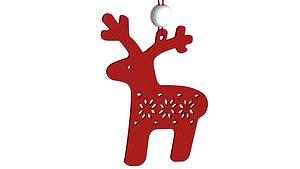 toy deer 3D model