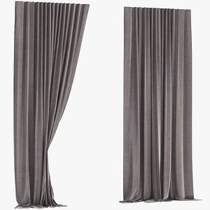 Curtain    Polygons  7947 3D model