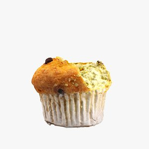 chocolate chip muffin model
