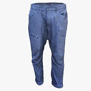 sport pants 3D