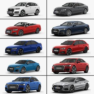 MY Audi Collection 3D