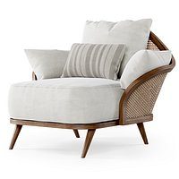 Garden lounge armchair WML