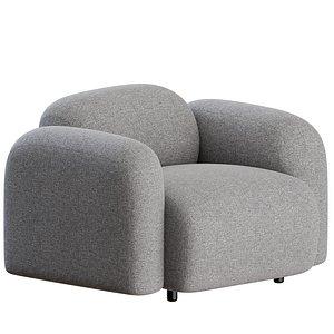 3D normann minimalistic furniture