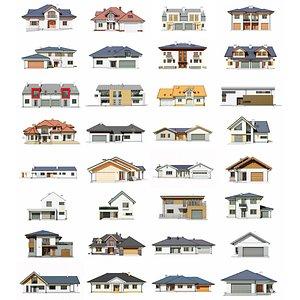 houses building model