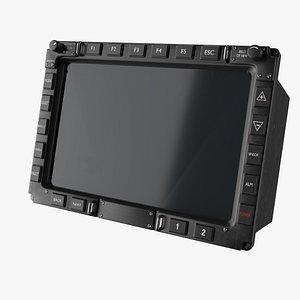 MFD multi function display 3D model