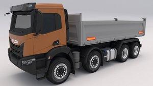 3D Iveco T-WAY 510 Tipper model