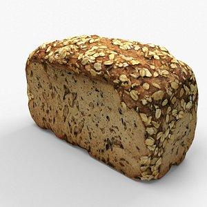 Pastry bred oat 3D model