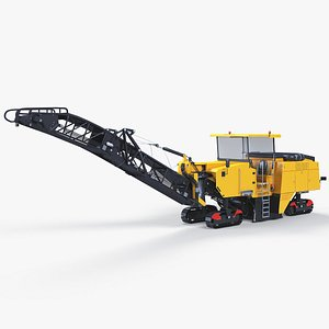 asphalt machine 3D