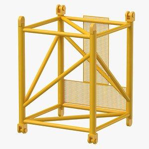 crane l intermediate section 3D