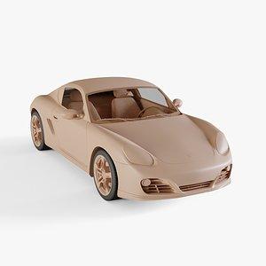 3D 2011 Porsche Cayman S model