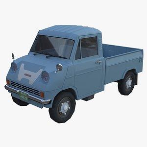 Honda T360 3D model