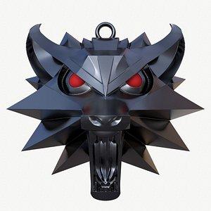 3D witcher necklace