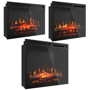 Dimplex fireplaces 3D model