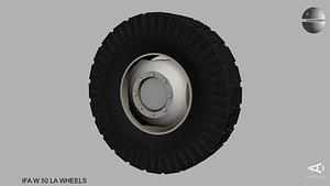 3D IFA Truck wheels