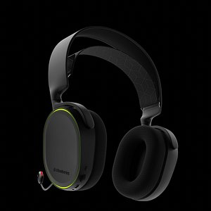 3D steelseries arctis headset